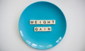 To gain weight eat a Healthy and Well-Balanced Diet