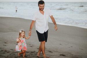 strong father child relationship for balancing career and motherhood